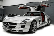 Mercedes-Benz SLS AMG. 6.2 V8. GREAT SPECIFICATION. EXCLUSIVE RED LEATHER. B & O BEOSOUND. 4