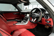 Mercedes-Benz SLS AMG. 6.2 V8. GREAT SPECIFICATION. EXCLUSIVE RED LEATHER. B & O BEOSOUND. 36