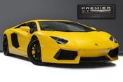 Lamborghini Aventador LP700-4 6.5 V12 COUPE. GREAT SPEC. £10K OPTIONAL PAINT. GLASS ENGINE COVER.