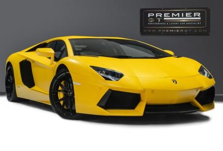 Lamborghini Aventador LP700-4 6.5 V12 COUPE. GREAT SPEC. £10K OPTIONAL PAINT. GLASS ENGINE COVER. 1
