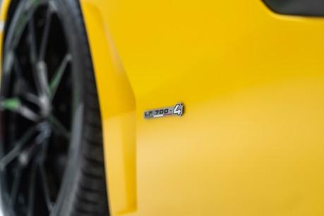 Lamborghini Aventador LP700-4 6.5 V12 COUPE. GREAT SPEC. £10K OPTIONAL PAINT. GLASS ENGINE COVER. 23