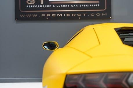 Lamborghini Aventador LP700-4 6.5 V12 COUPE. GREAT SPEC. £10K OPTIONAL PAINT. GLASS ENGINE COVER. 25