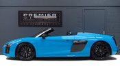 Audi R8 V10 PLUS QUATTRO SPYDER. AUDI SPORT PACK. SPORTS EXHAUST. FRONT END PPF. 5