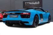 Audi R8 V10 PLUS QUATTRO SPYDER. AUDI SPORT PACK. SPORTS EXHAUST. FRONT END PPF. 6