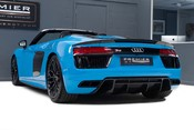 Audi R8 V10 PLUS QUATTRO SPYDER. AUDI SPORT PACK. SPORTS EXHAUST. FRONT END PPF. 8