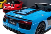 Audi R8 V10 PLUS QUATTRO SPYDER. AUDI SPORT PACK. SPORTS EXHAUST. FRONT END PPF. 10