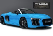 Audi R8 V10 PLUS QUATTRO SPYDER. AUDI SPORT PACK. SPORTS EXHAUST. FRONT END PPF.