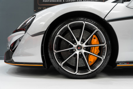 McLaren 570S V8 3.8 SSG. VEHICLE LIFT SYSTEM. REAR CAMERA. MCLAREN WARRANTY UNTIL 2022 5
