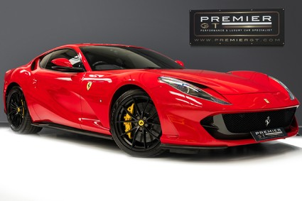 Ferrari 812 Superfast 6.5 V12. HUGE SPECIFICATION. PASSENGER DISPLAY. SUSPENSION LIFT. FULL PPF.