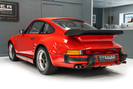 Porsche 911 TURBO. SE. 930. FACTORY BUILT FLATNOSE. 1 OF 50 RHD CARS. GENUINE C16 CAR 7