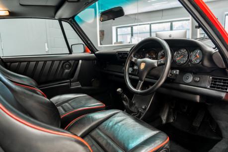 Porsche 911 TURBO. SE. 930. FACTORY BUILT FLATNOSE. 1 OF 50 RHD CARS. GENUINE C16 CAR 42