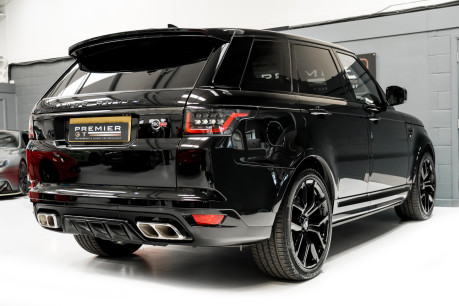 Land Rover Range Rover Sport SVR. 5.0 V8. NOW SOLD, SIMILAR REQUIRED. PLEASE CALL 01903 254 800 7