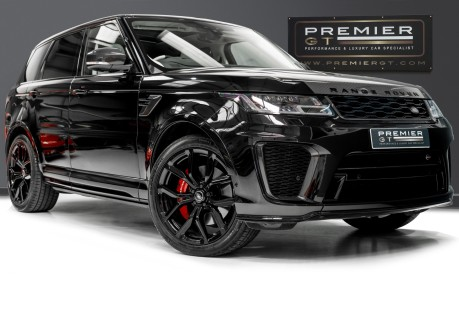 Land Rover Range Rover Sport SVR. 5.0 V8. NOW SOLD, SIMILAR REQUIRED. PLEASE CALL 01903 254 800 1