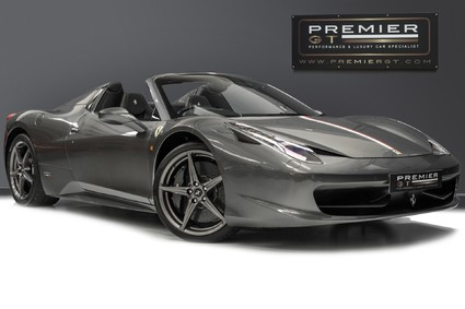 Ferrari 458 SPIDER DCT. 4.5 V8. CARBON RACING PACKAGE. CARBON SEATS.