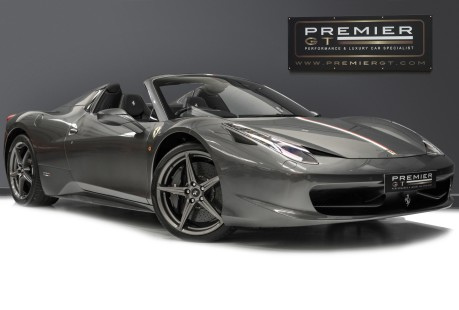 Ferrari 458 SPIDER DCT. 4.5 V8. NOW SOLD. SIMILAR REQUIRED CALL 01903 254 800. 1