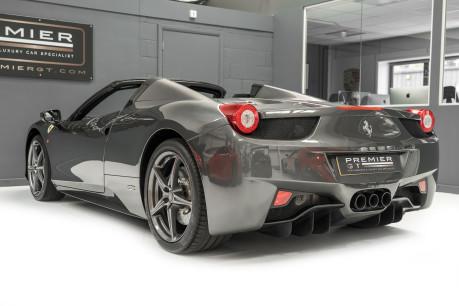 Ferrari 458 SPIDER DCT. 4.5 V8. NOW SOLD. SIMILAR REQUIRED CALL 01903 254 800. 8