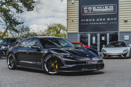 Porsche Taycan TURBO S. HUGE SPECIFICATION. NOW SOLD. SIMILAR REQUIRED. CALL 01903 254 800 2