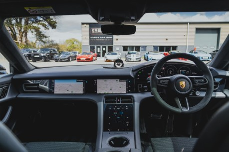 Porsche Taycan TURBO S. HUGE SPECIFICATION. NOW SOLD. SIMILAR REQUIRED. CALL 01903 254 800 3