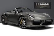 Porsche 911 TURBO S PDK CABRIOLET. NOW SOLD. SIMILAR REQUIRED. CALL 01903 254 800.