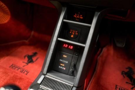 Ferrari Testarossa COUPE. 4.9L FLAT 12 MANUAL. EX AL-FAYED COLLECTION CAR. BORDEAUX CARPETS. 42