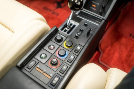 Ferrari Testarossa COUPE. 4.9L FLAT 12 MANUAL. EX AL-FAYED COLLECTION CAR. BORDEAUX CARPETS. 44