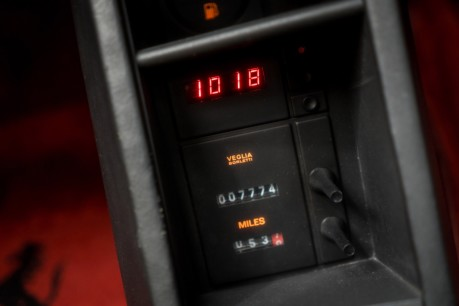 Ferrari Testarossa COUPE. 4.9L FLAT 12 MANUAL. EX AL-FAYED COLLECTION CAR. BORDEAUX CARPETS. 45
