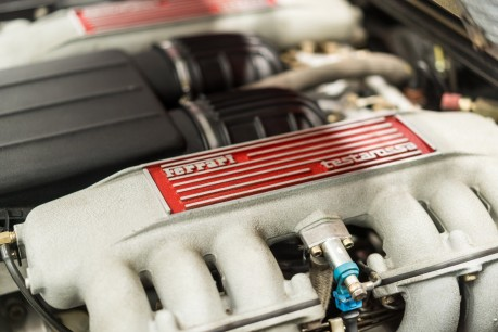 Ferrari Testarossa COUPE. 4.9L FLAT 12 MANUAL. EX AL-FAYED COLLECTION CAR. BORDEAUX CARPETS. 47