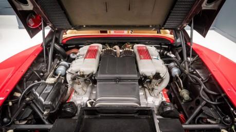 Ferrari Testarossa COUPE. 4.9L FLAT 12 MANUAL. EX AL-FAYED COLLECTION CAR. BORDEAUX CARPETS. 48
