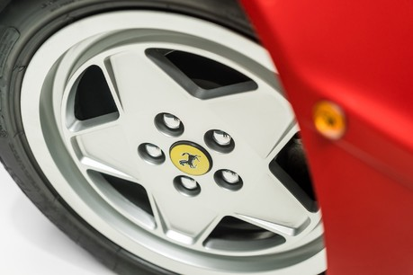 Ferrari Testarossa COUPE. 4.9L FLAT 12 MANUAL. EX AL-FAYED COLLECTION CAR. BORDEAUX CARPETS. 5