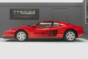Ferrari Testarossa COUPE. 4.9L FLAT 12 MANUAL. EX AL-FAYED COLLECTION CAR. BORDEAUX CARPETS. 4