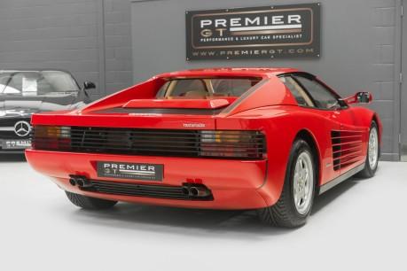 Ferrari Testarossa COUPE. 4.9L FLAT 12 MANUAL. EX AL-FAYED COLLECTION CAR. BORDEAUX CARPETS. 7