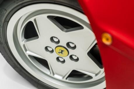 Ferrari Testarossa COUPE. 4.9L FLAT 12 MANUAL. EX AL-FAYED COLLECTION CAR. BORDEAUX CARPETS. 22