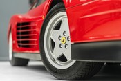 Ferrari Testarossa COUPE. 4.9L FLAT 12 MANUAL. EX AL-FAYED COLLECTION CAR. BORDEAUX CARPETS. 21