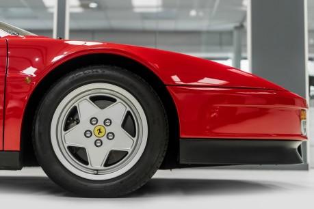 Ferrari Testarossa COUPE. 4.9L FLAT 12 MANUAL. EX AL-FAYED COLLECTION CAR. BORDEAUX CARPETS. 23