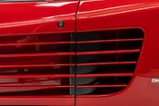 Ferrari Testarossa COUPE. 4.9L FLAT 12 MANUAL. EX AL-FAYED COLLECTION CAR. BORDEAUX CARPETS. 19