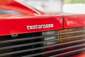 Ferrari Testarossa COUPE. 4.9L FLAT 12 MANUAL. EX AL-FAYED COLLECTION CAR. BORDEAUX CARPETS. 15