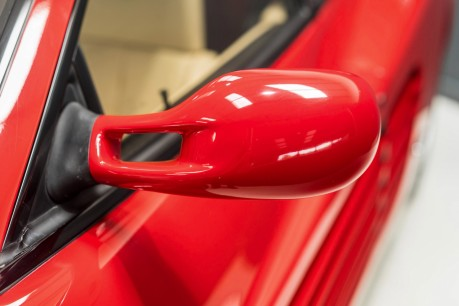 Ferrari Testarossa COUPE. 4.9L FLAT 12 MANUAL. EX AL-FAYED COLLECTION CAR. BORDEAUX CARPETS. 27