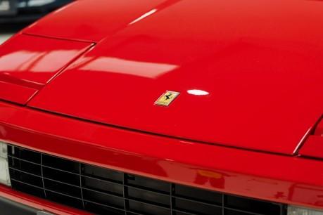 Ferrari Testarossa COUPE. 4.9L FLAT 12 MANUAL. EX AL-FAYED COLLECTION CAR. BORDEAUX CARPETS. 28