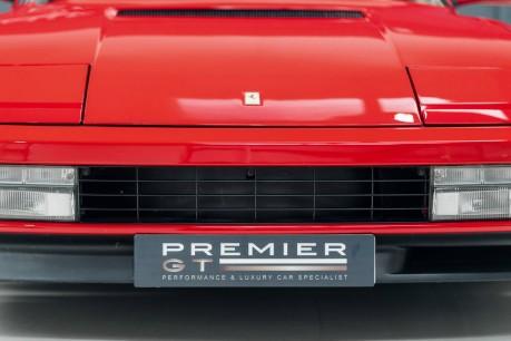 Ferrari Testarossa COUPE. 4.9L FLAT 12 MANUAL. EX AL-FAYED COLLECTION CAR. BORDEAUX CARPETS. 24