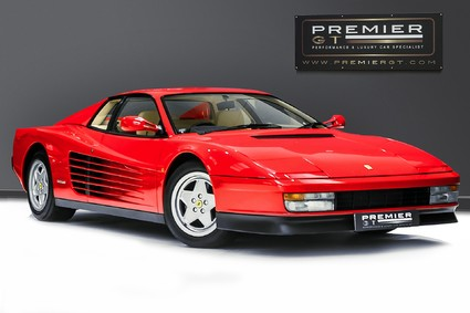 Ferrari Testarossa COUPE. 4.9L FLAT 12. NOW SOLD, SIMILAR REQUIRED. PLEASE CALL 01903 254800