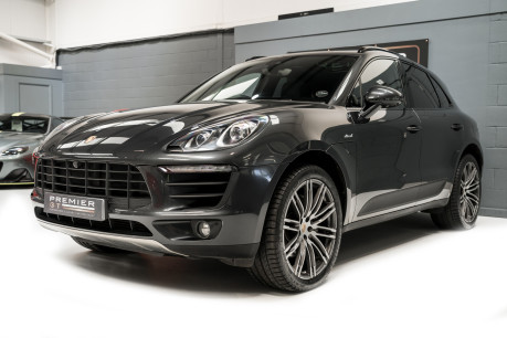 Porsche Macan S D 3.0 V6 PDK. HUGE SPECIFICATION. NOW SOLD. SIMILAR VEHICLES REQUIRED. 3