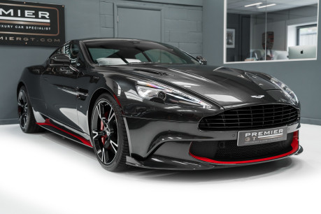 Aston Martin Vanquish S 6.0 V12. HUGE SPECIFICATION. OVER £38,000 OF OPTIONS. 1 OWNER. 37