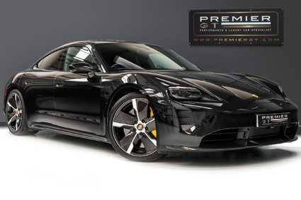 Porsche Taycan TURBO S 93KWH. 150KW BOOSTER. CARBON SPORT DESIGN PACK. PANORAMIC ROOF.
