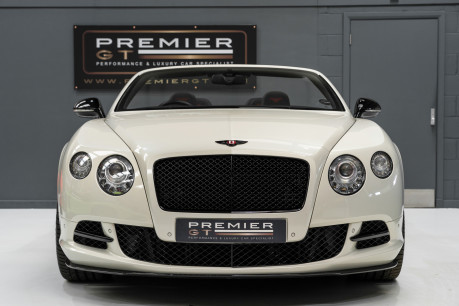 Bentley Continental GTC 4.0 V8. MULLINER DRIVING SPECIFICATION. GHOST WHITE PAINT. LOW MILEAGE. 2