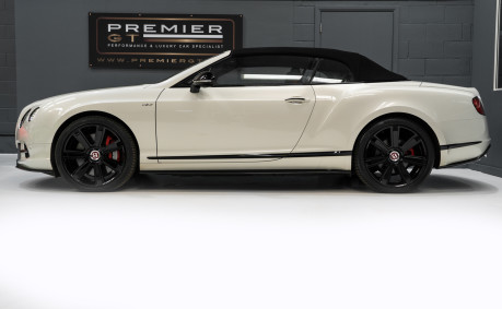 Bentley Continental GTC 4.0 V8. MULLINER DRIVING SPECIFICATION. GHOST WHITE PAINT. LOW MILEAGE. 5