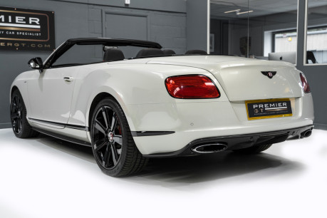 Bentley Continental GTC 4.0 V8. MULLINER DRIVING SPECIFICATION. GHOST WHITE PAINT. LOW MILEAGE. 7