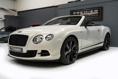 Bentley Continental GTC 4.0 V8. MULLINER DRIVING SPECIFICATION. GHOST WHITE PAINT. LOW MILEAGE. 3