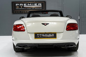 Bentley Continental GTC 4.0 V8. MULLINER DRIVING SPECIFICATION. GHOST WHITE PAINT. LOW MILEAGE. 8