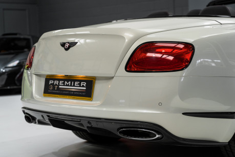 Bentley Continental GTC 4.0 V8. MULLINER DRIVING SPECIFICATION. GHOST WHITE PAINT. LOW MILEAGE. 11