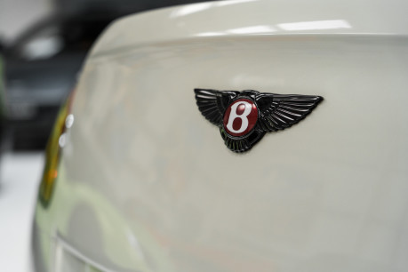 Bentley Continental GTC 4.0 V8. MULLINER DRIVING SPECIFICATION. GHOST WHITE PAINT. LOW MILEAGE. 12